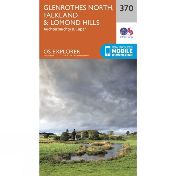 Explorer Map 370 Glenrothes North, Falkland and Lomond Hills