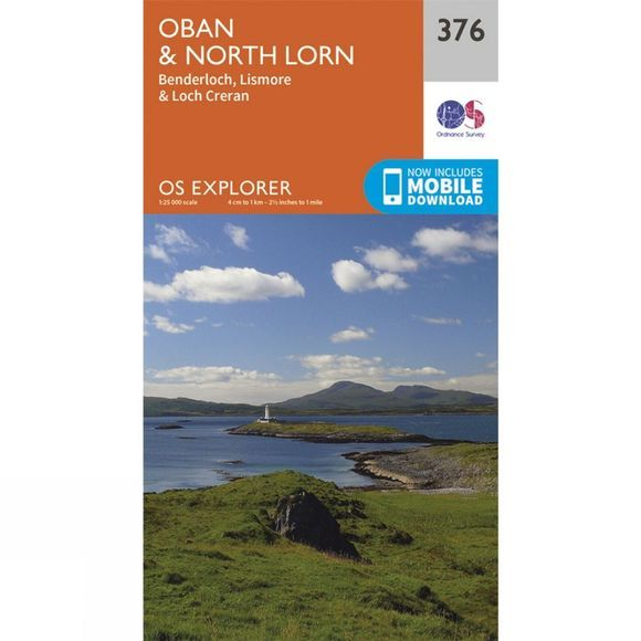 Explorer Map 376 Oban and North Lorn