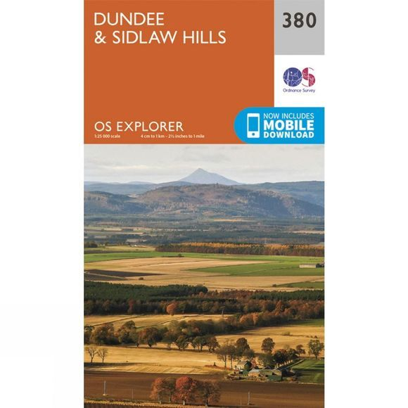 Explorer Map 380 Dundee and Sidlaw Hills