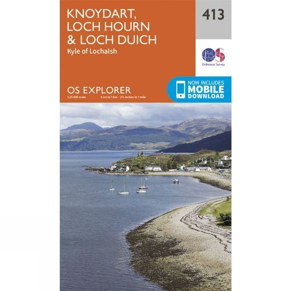 Explorer Map 413 Knoydart, Loch Hourn and Loch Duich