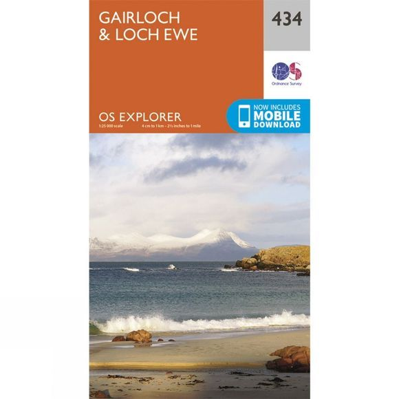 Explorer Map 434 Gairloch and Loch Ewe