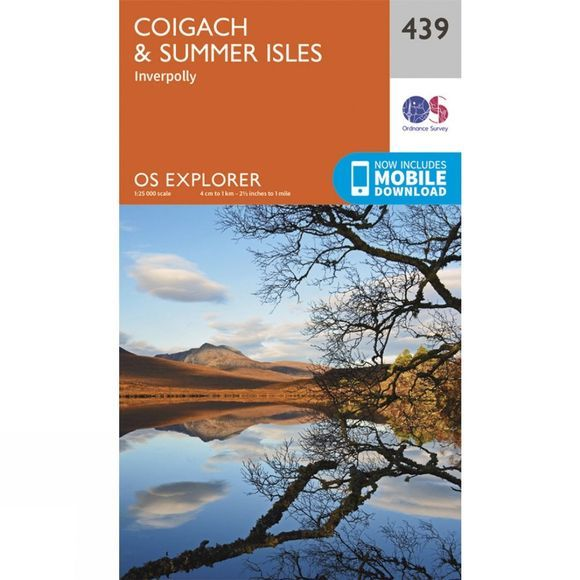 Explorer Map 439 Coigach and Summer Isles