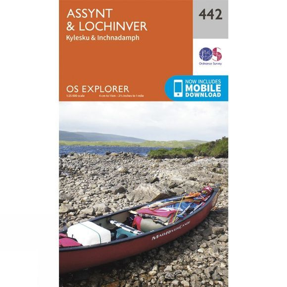 Explorer Map 442 Assynt and Lochinver