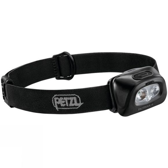 Petzl Tactikka+ 350L Headtorch Black
