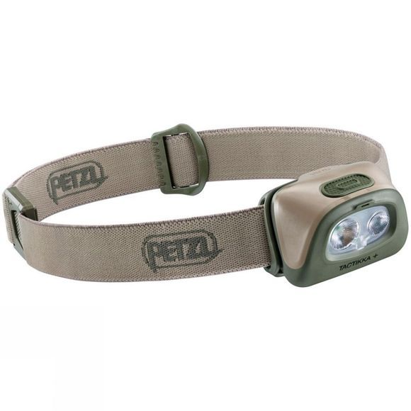 Petzl Tactikka+ 350L Headtorch Desert