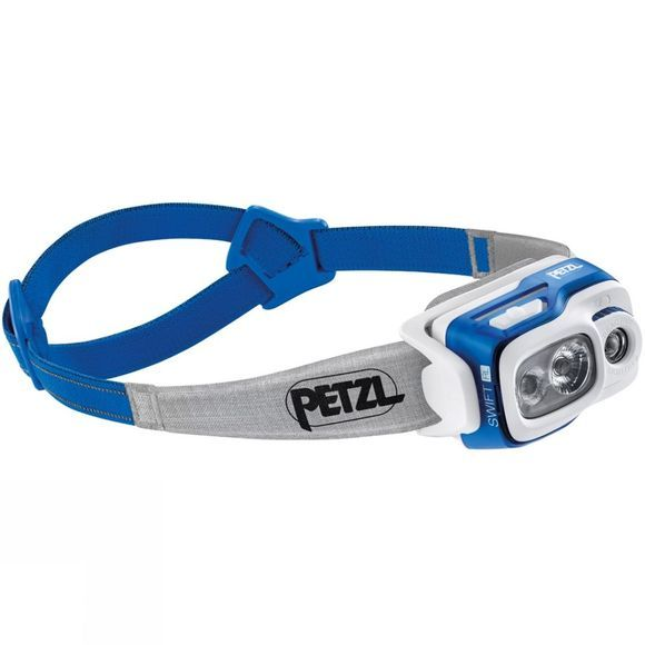 Petzl Swift RL 900L Headtorch Blue