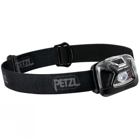 Petzl Tactikka Headtorch Black