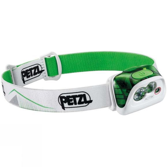 Petzl Actik Headlamp Green