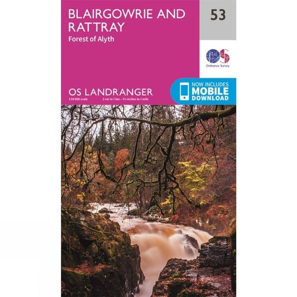 Landranger Map 53 Blairgowrie and Rattray