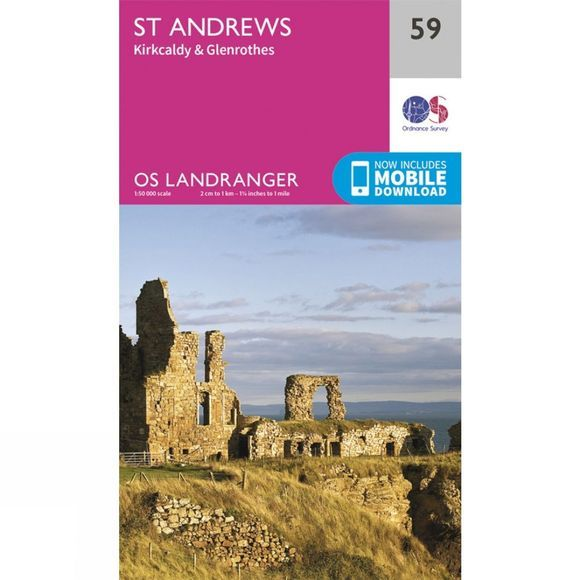 Ordnance Survey Landranger Map 59 St Andrews V16