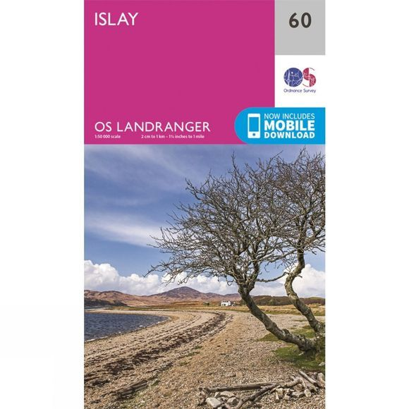 Ordnance Survey Landranger Map 60 Islay V16
