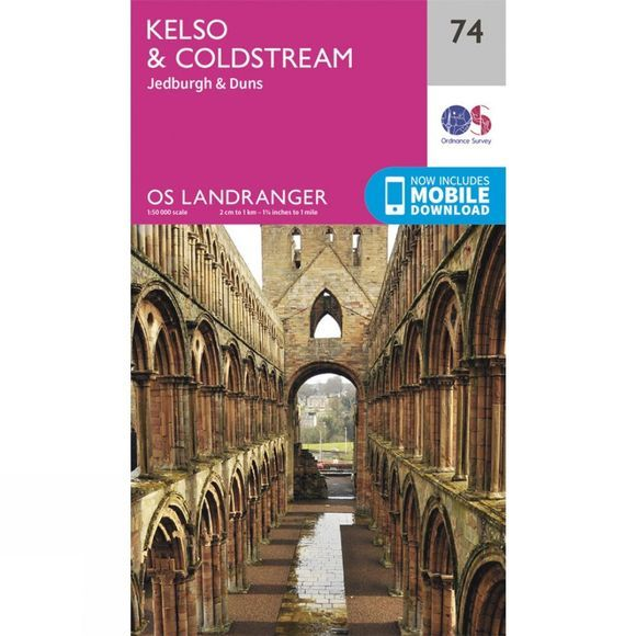 Landranger Map 74 Kelso and Coldstream