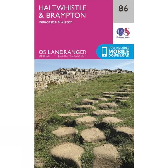Ordnance Survey Landranger Map 86 Haltwhistle and Brampton V16
