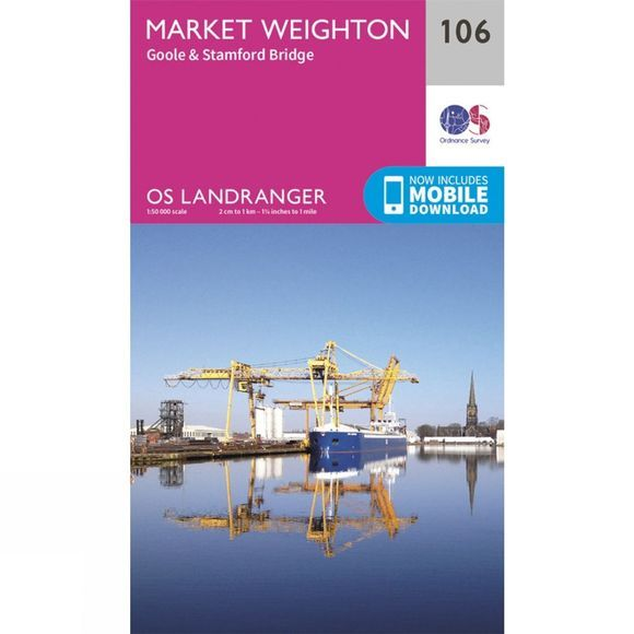 Landranger Map 106 Market Weighton