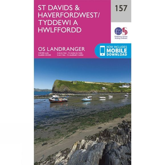 Landranger Map 157 St David's and Haverfordwest