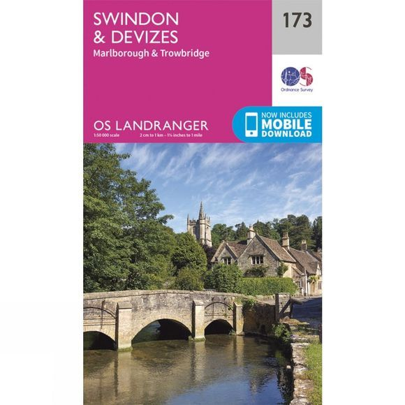 Landranger Map 173 Swindon and Devizes