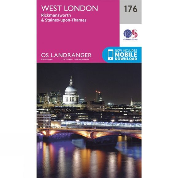 Landranger Map 176 London West