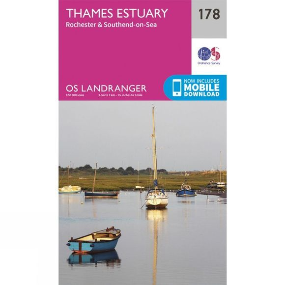 Landranger Map 178 Thames Estuary
