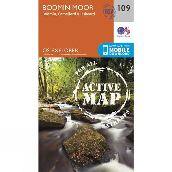 Active Explorer Map 109 Bodmin Moor