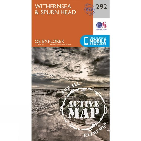 Active Explorer Map 292 Withernsea and Spurn Head