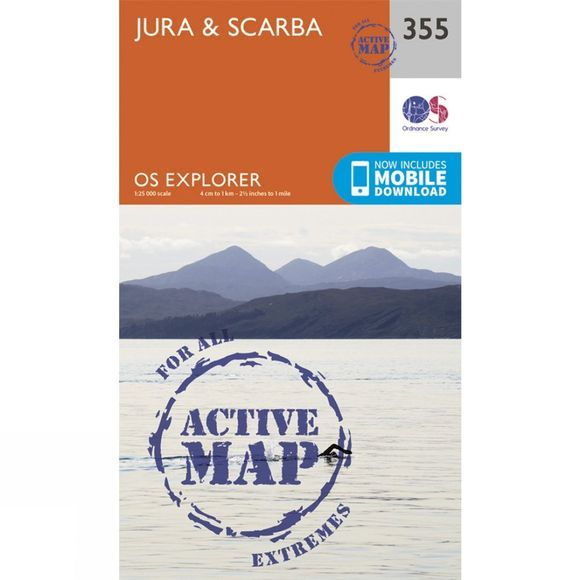 Active Explorer Map 355 Jura and Scarba