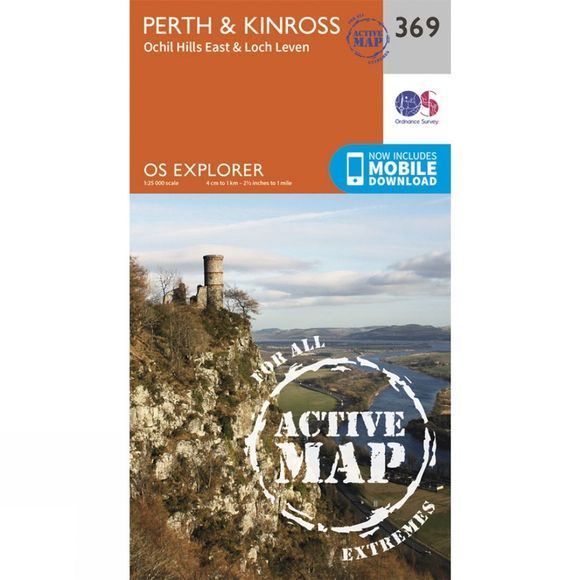 Active Explorer Map 369 Perth and Kinross