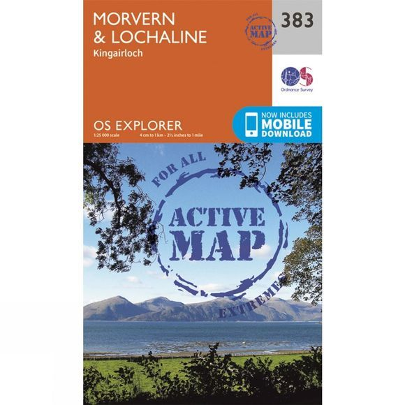 Active Explorer Map 383 Morvern and Lochaline