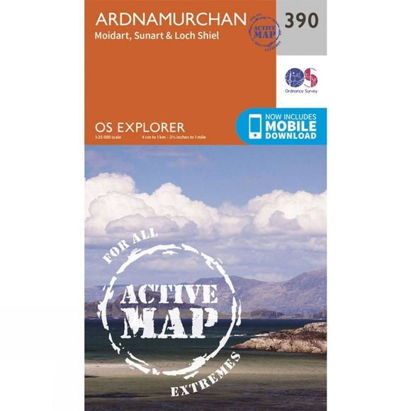 Active Explorer Map 390 Ardnamurchan
