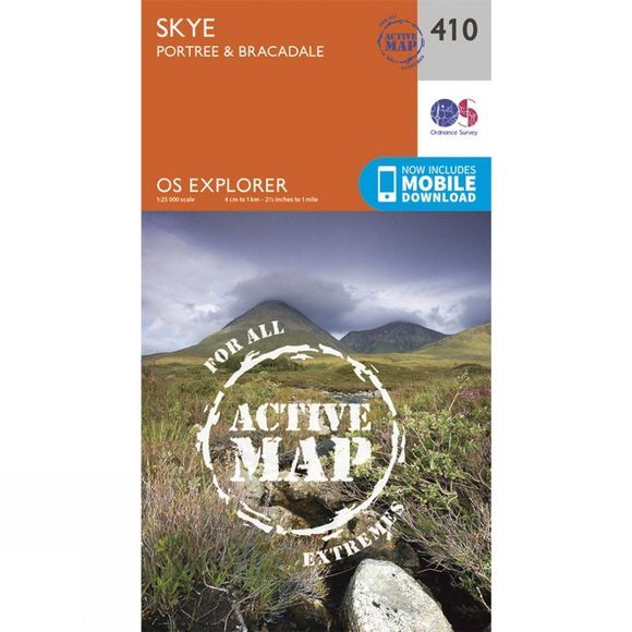 Active Explorer Map 410 Skye -  Portree and Bracadale