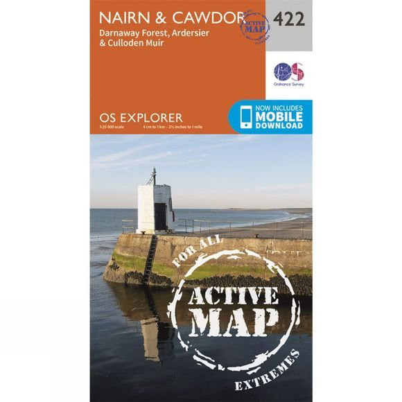Active Explorer Map 422 Nairn and Cawdor