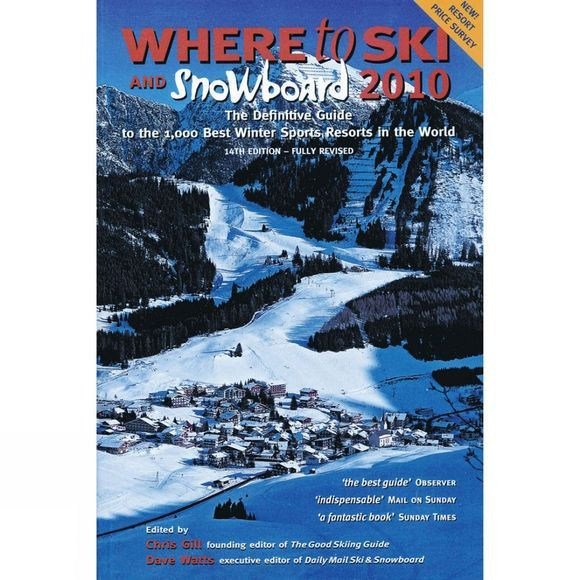 Where To Ski & Snowboard 2011