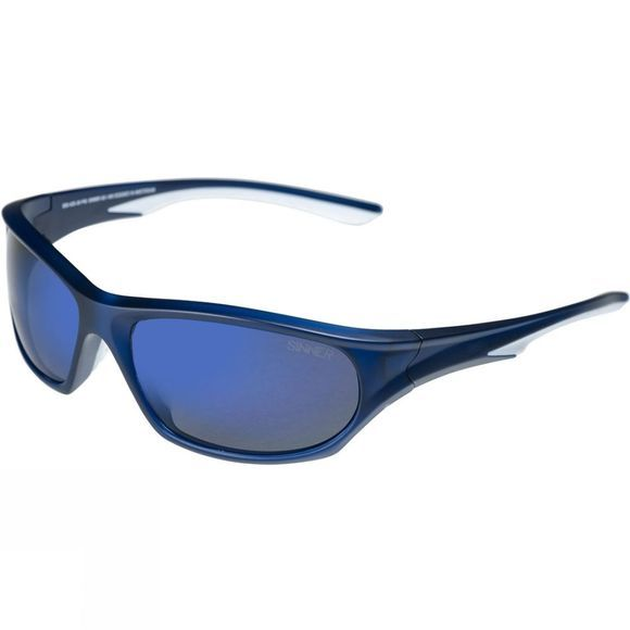 Sinner Fury Polarised Matt dark blue/smoke blue