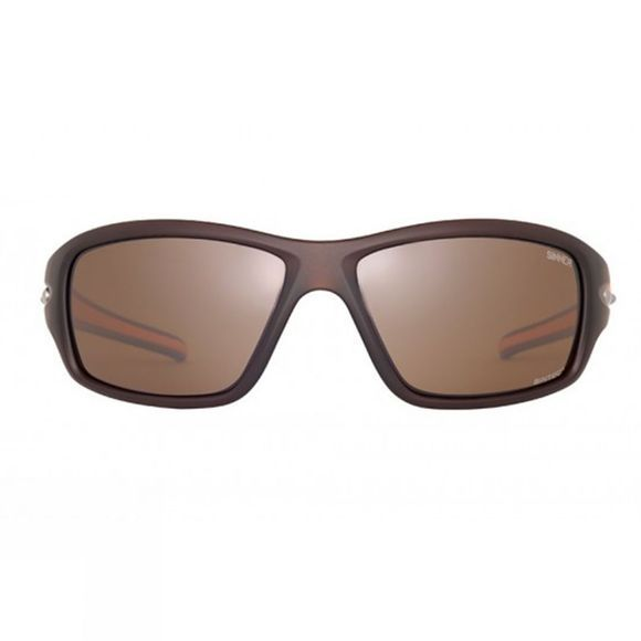 Sinner Ros Polarised Sunglasses Matt Brown/Orange
