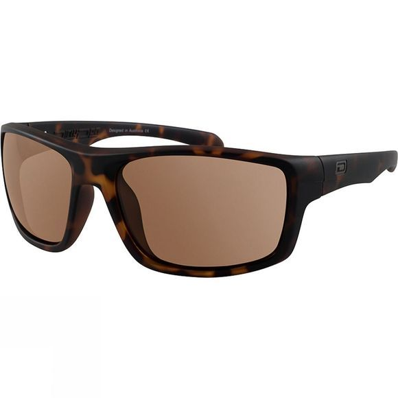Dirty Dog Axle Sunglasses Matt Tort/Brown Polarised