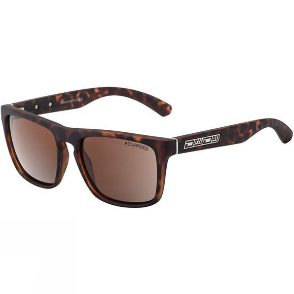 Dirty Dog Monza Sunglasses Matt Tortoise/ Brown Pol
