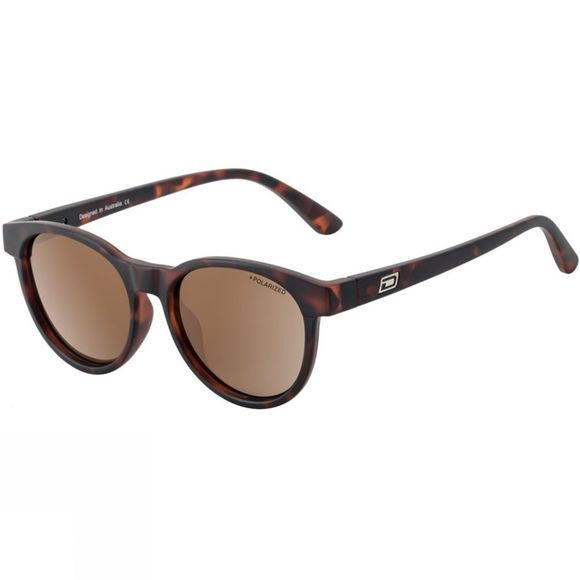 Dirty Dog Twisty Sunglasses Satin Tortoise/ Brown Pol