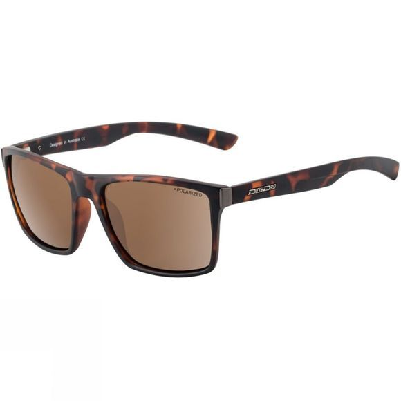 Dirty Dog Volcano Sunglasses Satin Tortoise/Brown Polarized