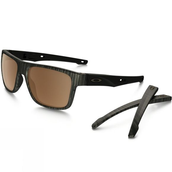 Oakley Crossrange Sunglasses Woodgrain/Prizm Tungsten Iridium
