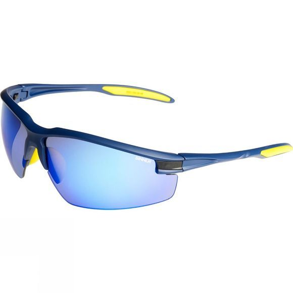 Sinner Granite Cranmore Sport Sunglasses Matt Blue/Revo Blue