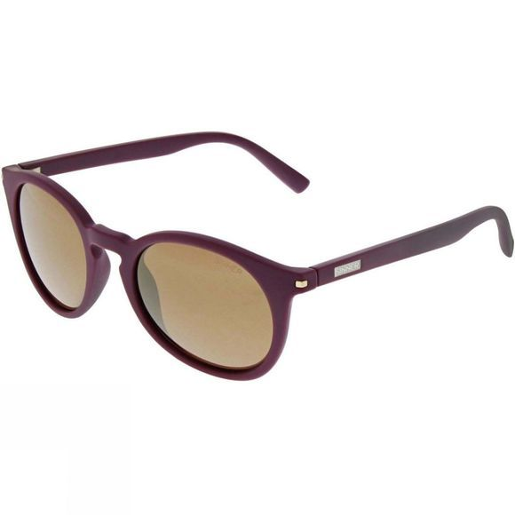 Sinner Patnem Sunglasses Crystal Purple/Gold Mirror