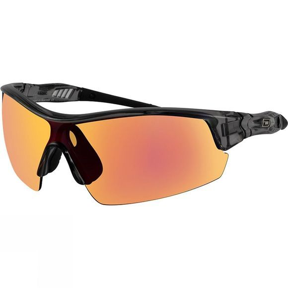 Dirty Dog Edge Sunglasses Crystal Black/Red Fusion Mirror