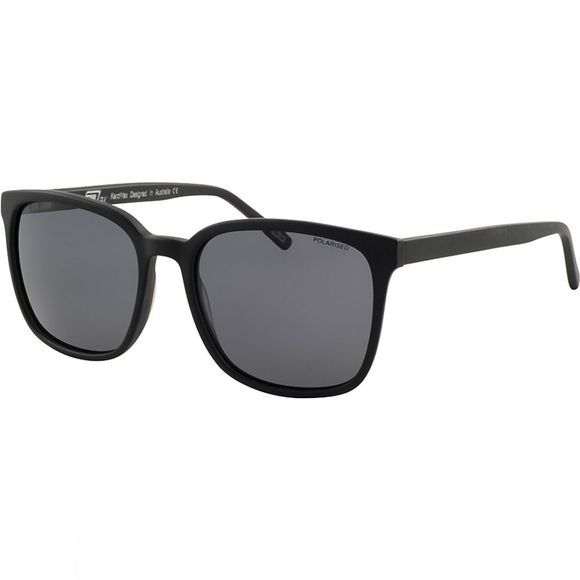 Dirty Dog KeroWax Sunglasses Black/Grey Polarised