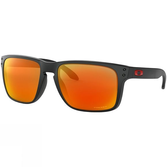 Oakley Holbrook XL Sunglasses Matt Black/ Prizm Ruby
