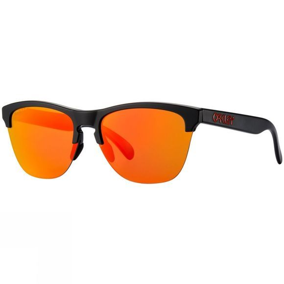Oakley Frogskins Lite Sunglasses MATT BLACK/PRIZM RUBY