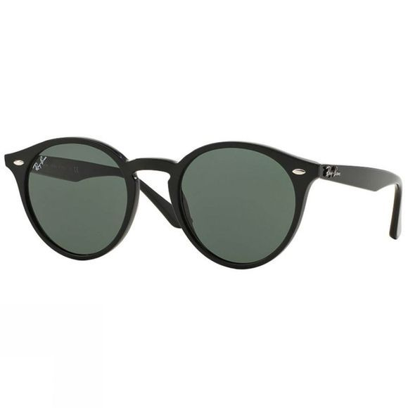 Ray Ban RB2180 Sunglasses Black/ Grey Green