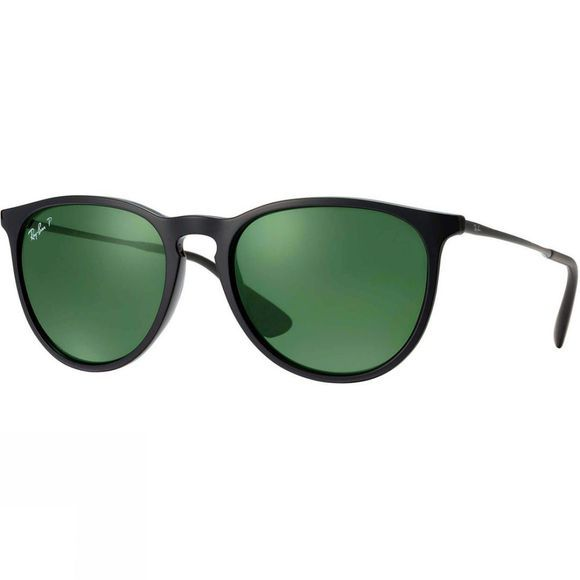 Ray Ban Erika Sunglasses Black/ Polar Green