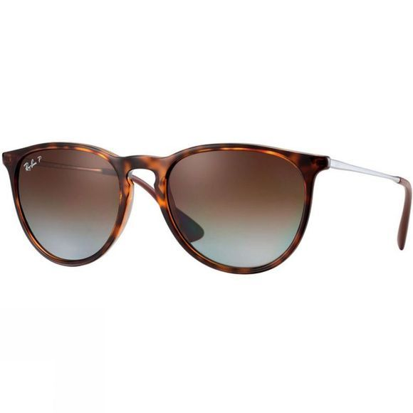 Ray Ban Erika Sunglasses Havana/ Polar Brown Gradient