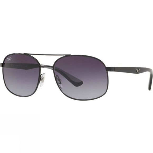 Ray Ban RB3593 Sunglasses Black/ Gray Gradient