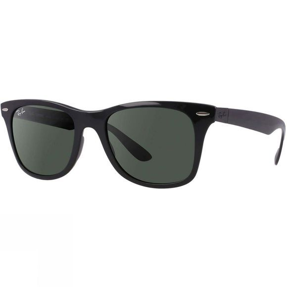 Ray Ban Wayfarer Liteforce Sunglasses Black/ Green