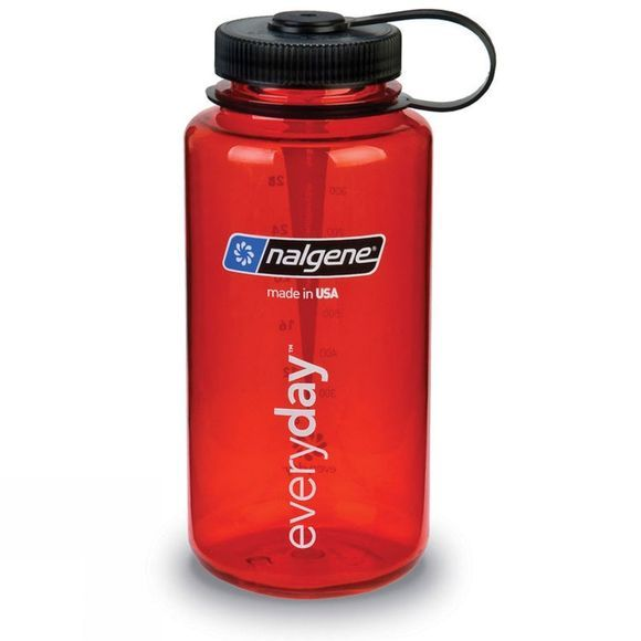 Nalgene Wide Mouth Tritan 1 Ltr Red